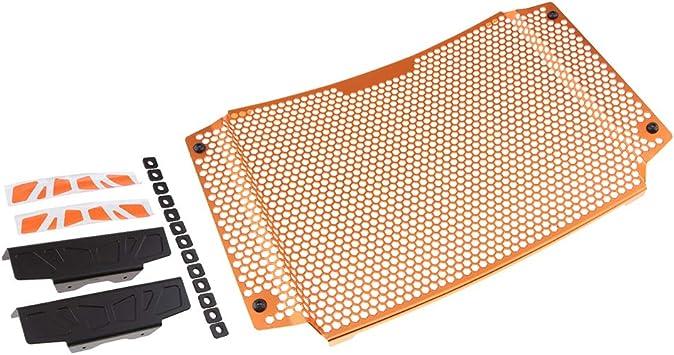 Perfk Orange Edelstahl Kühler Schutzabdeckung Schutzfolie Für 790 2018 2019 Auto