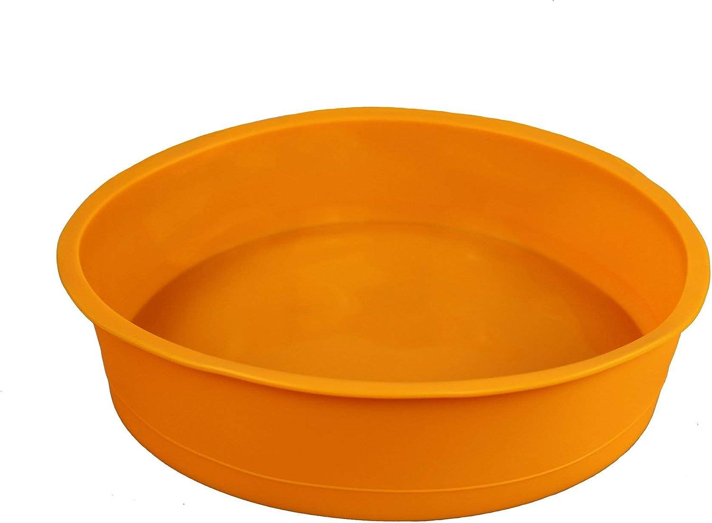 stampo rotondo diametro: 26 cm Original GMMH Tortiera di silicone ideale per torta e pane