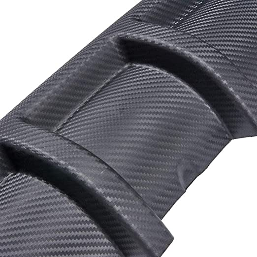 mlzaq Diffuseur Pare-Chocs arri/ère l/èvres Voiture Splitter Scratch Protecteur for for Ford Focus MK2 MK3 MK4 Kuga /Évasion Fiesta Ecosport Mondeo Fusion Color : Black
