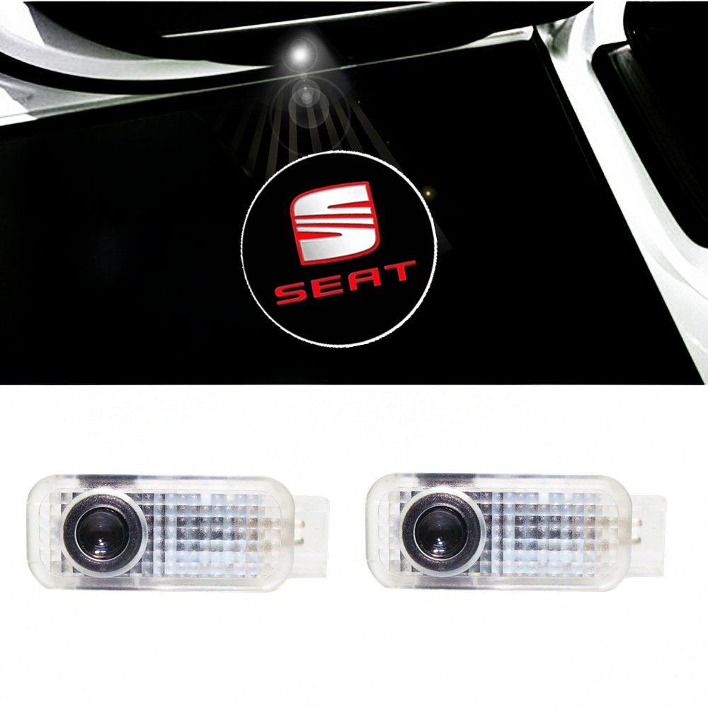 Colorbuy Led Luces Puerta Coche Proyector Sombra Logotipo Cortesí a