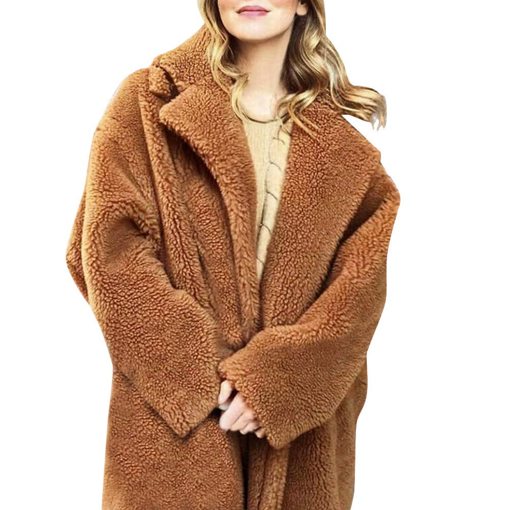 Caopixx Women Outwear Winter Jacket Thicken Warm Coat Hood Parka Overcoat Long Coats Outwear Soft