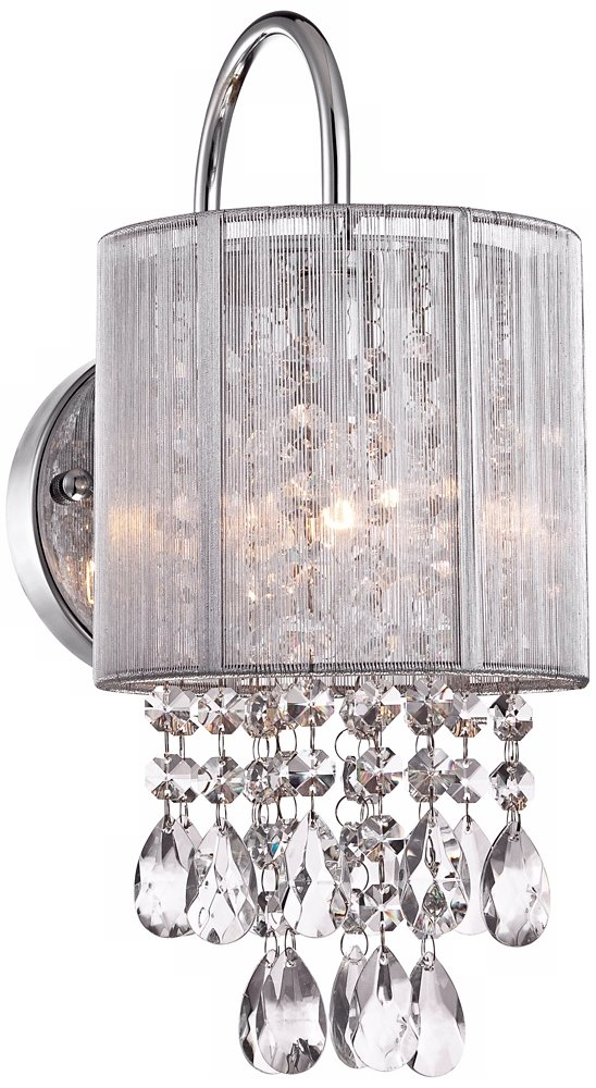Possini euro silver line 12h chrome and crystal sconce possini possini euro silver line 12h chrome and crystal sconce possini euro lighting amazon mozeypictures Choice Image