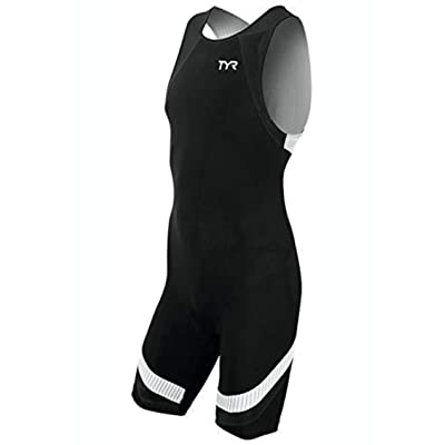 Amazon.com : TYR TMZNJB6A1XL Mens Carbon Zip Back Tri Suit Black XL : Clothing