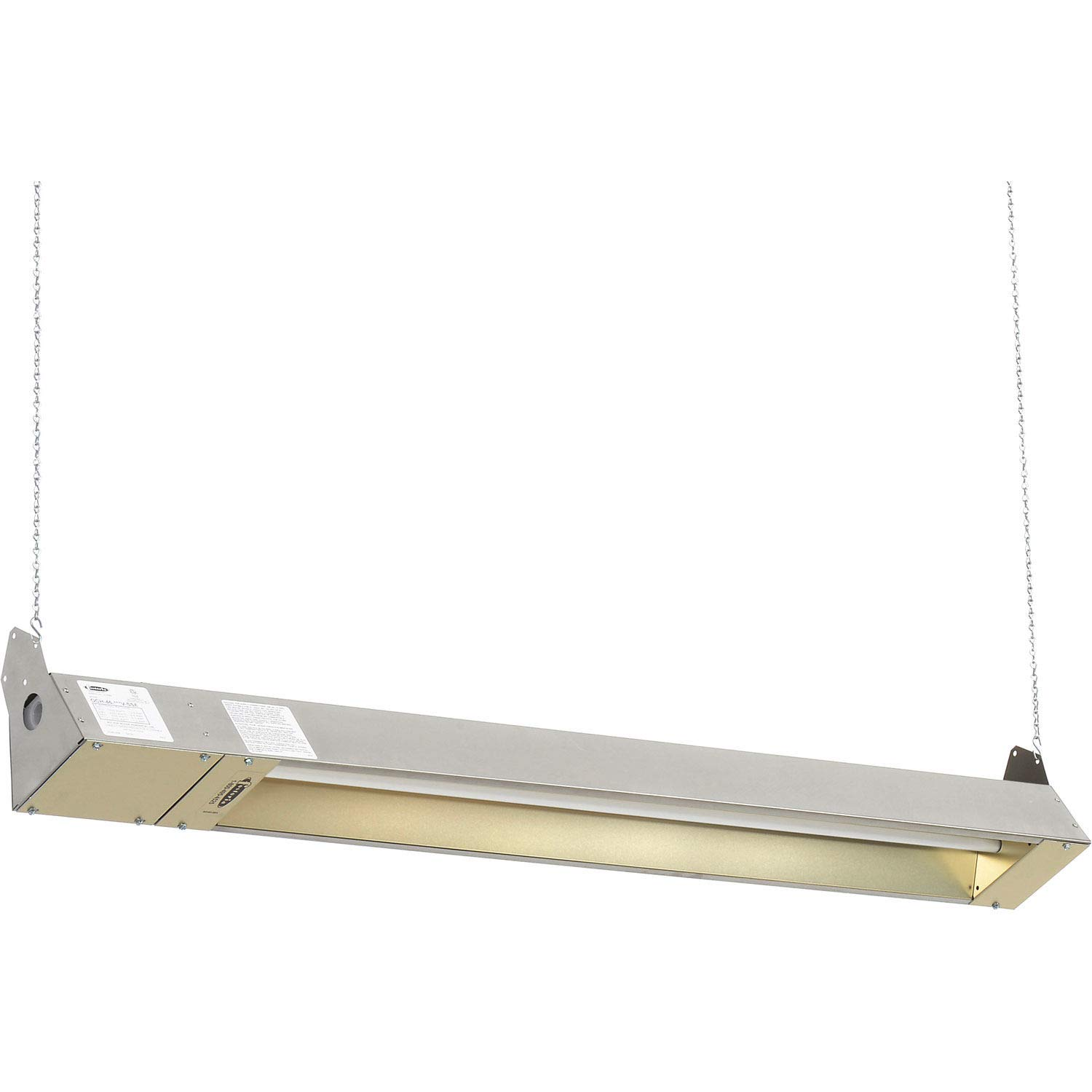 TPI Indoor Outdoor Quartz Electric Infrared Heater 120V 1500W Stainless Steel
