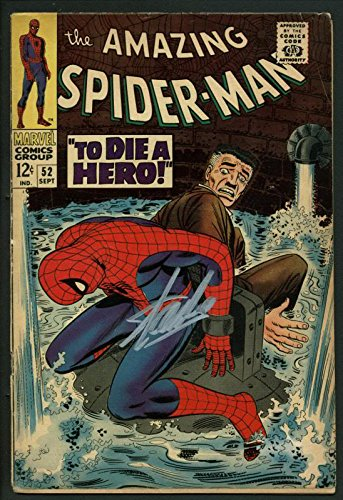 Stan Lee Signed Amazing Spider-Man #52 Comic Book Kingpin PSA/DNA #W18759