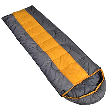 ISIYINER Saco De Dormir Impermeable hasta Nylon 4 Estaciones Saco de Dormir de Forma de Sobre Ultraligero Multifunción 216 * 70cm 1318g: Amazon.es: Deportes ...