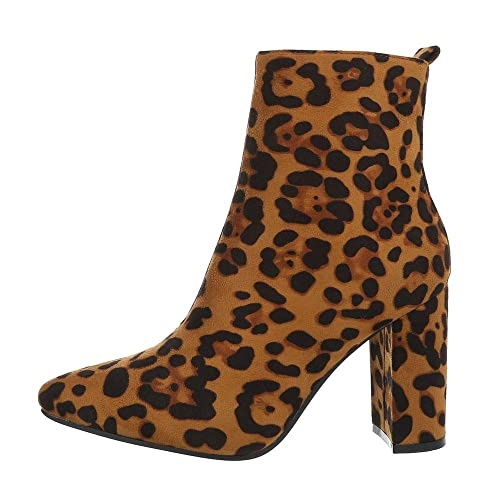 Italiana de diseño Zapatos Botines Mujer High Heel Botines: Amazon.es: Zapatos y complementos