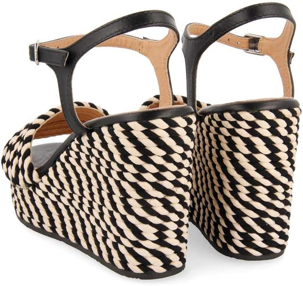 GIOSEPPO Borba Zapatos de tac/ón con Punta Abierta para Mujer