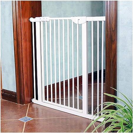 WHAIYAO Bebé Puerta De La Escalera Barrera Decorativo for El Hogar Puerta De Seguridad Puerta De Protección De Escalera Barandilla Cierre Automático, Extensiones: Amazon.es: Hogar