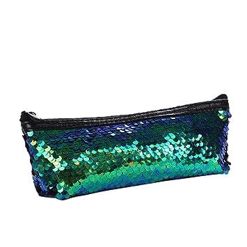 75d3f0e75626 Amazon.com : Mermaid Sequin Pencil Case, Iuhan Mermaid Sequin ...
