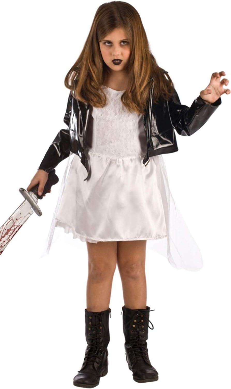 Disfraz de la Novia de Chucky para niña: Amazon.es: Juguetes y juegos