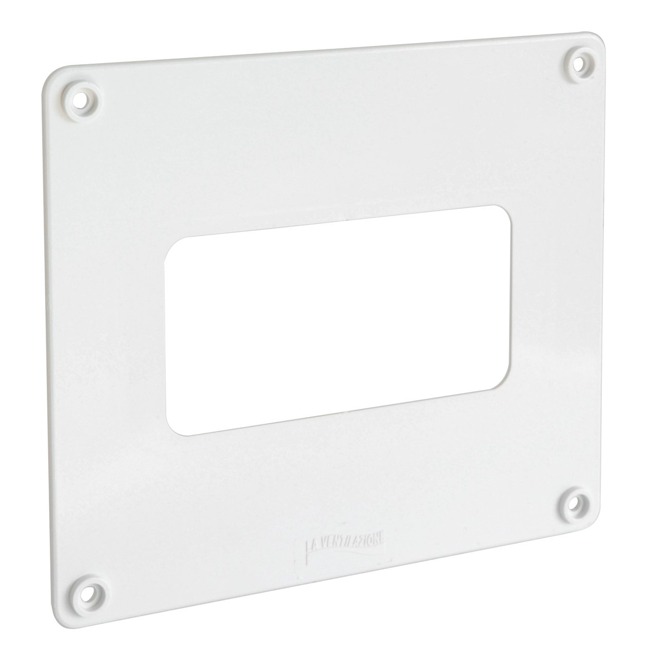 La ventilaci/ón cf1916126b copriforo blanco de ABS para tubos rectangulares 150/x 70/ /120/x 60/mm