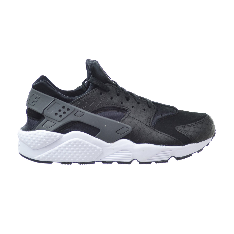 online retailer 2bf70 55d1a Amazon.com   Nike Air Huarache Run PRM Men s Shoes Black Dark Grey White  704830-001 (9.5 D(M) US)   Running