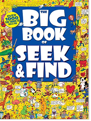 Big Book of Seek & Find (Children's Activity Book)
