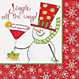 Jingle All The Way Christmas Cocktail Napkins, 16ct