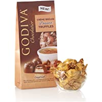 Godiva Chocolatier Wrapped Chocolate Dessert Truffles, Creme Brulee, Great for Gifting, Gift Pack