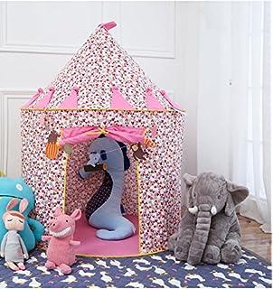 0822b9ae46e63f Vpaly-Tipi Enfant Château Princesse Cabane Enfant Intérieur Teepee Maison  Chateau de princesse Tente de