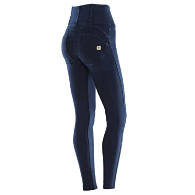 166f8a2778 Freddy Femme Jeans / Jean taille haute Pantalone Lungo