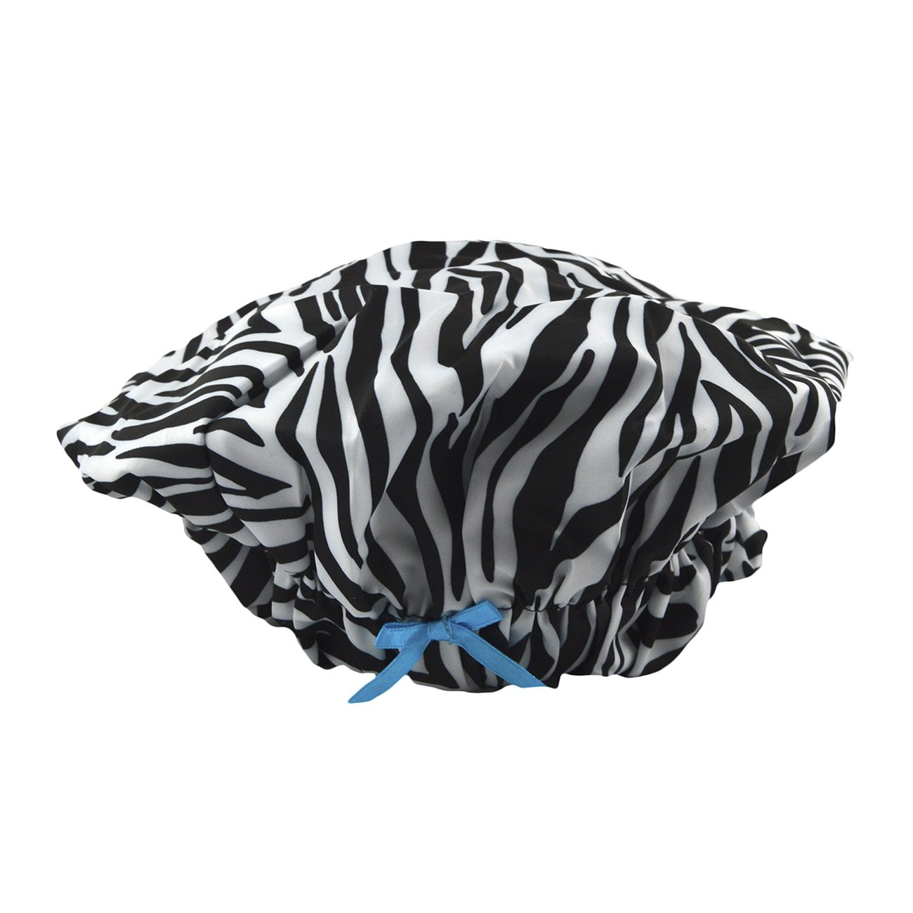 Betty Dain Fashionista Collection Mold Resistant Lined Shower Cap, Sassy Stripes