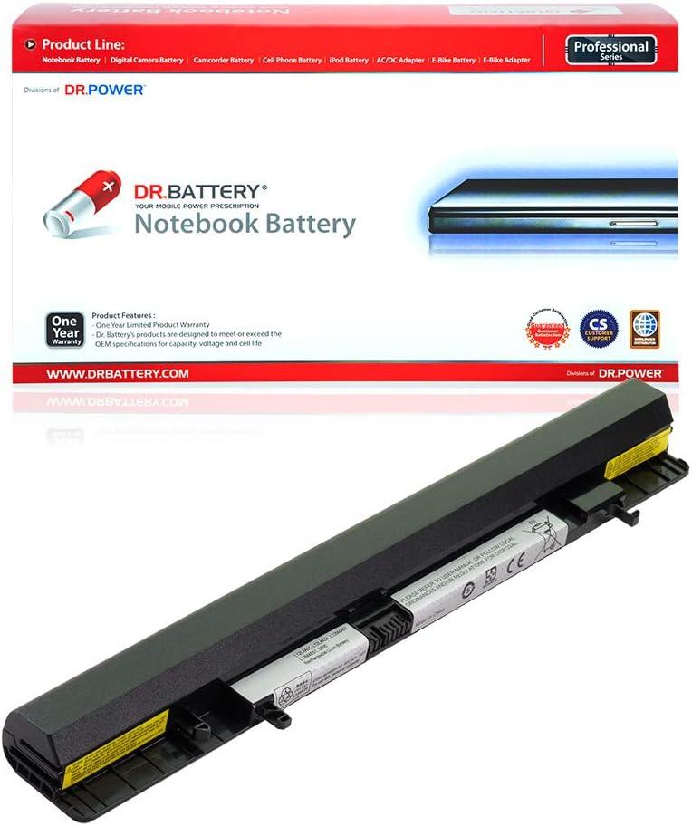 DR. BATTERY L12L4A01 Battery Compatible with Lenovo IdeaPad Flex 14 14M 15 15M S500 L12L4K51 L12M4A01 L12M4E51 L12M4K51 L12S4A01 L12S4E51 L12S4F01 L12S4K51[14.4V/2200mAh/32Wh]