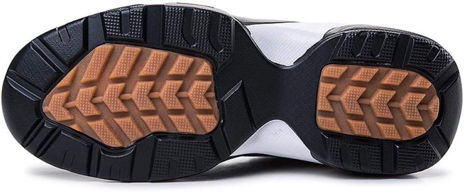 WFQGZ Chaussures De Sport Chaudes Chaussures De Sport De Course À Pied Noires Chaussures D'Entraînement en Cuir Chaussures De Sport Hommes Red with fur