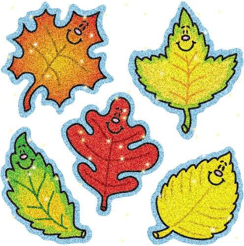 Carson Dellosa Fall Leaves Dazzle Stickers (2906)