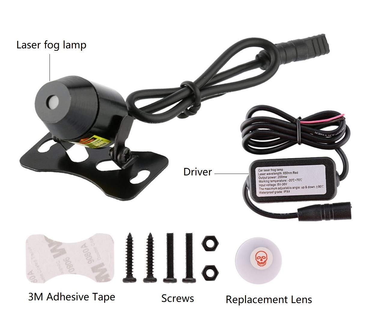 Einskey Laser Lights For Cars Universal Auto Rear End Led Flasher 12v Headlight Strobe Flashing Circuit Motorcycle Car Tail Alarm Fog Lamp And Motorcycles Brake Parking Anti Collision Safety Warning