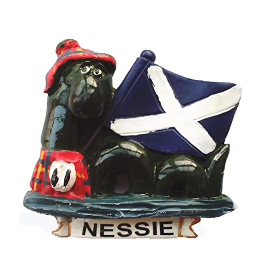 MUYU Magnet 3D Loch Ness Monster Scotland UK imán para Nevera ...