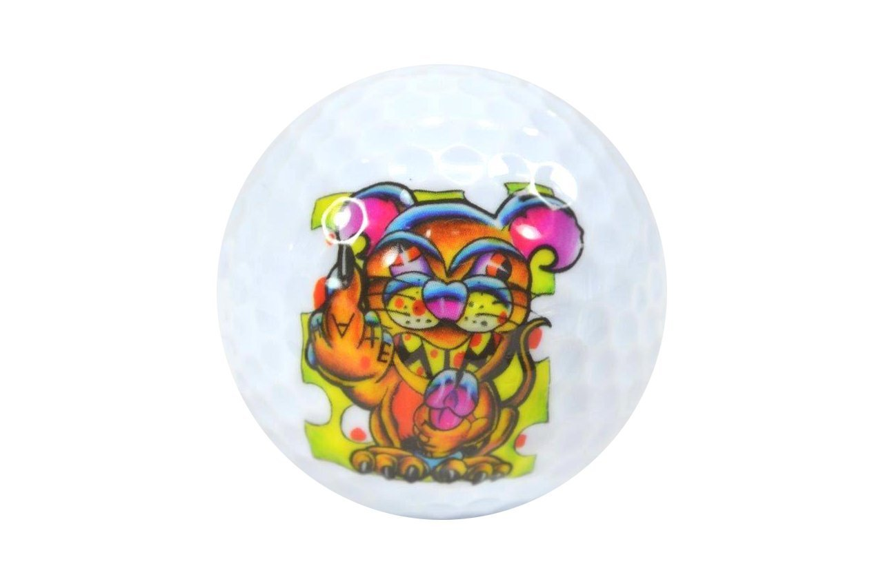 Nicks Underground Novelty Golf Balls - Say Cheese 3 Pack Display Tube #NUG22 [並行輸入品] B071ZXJXX1