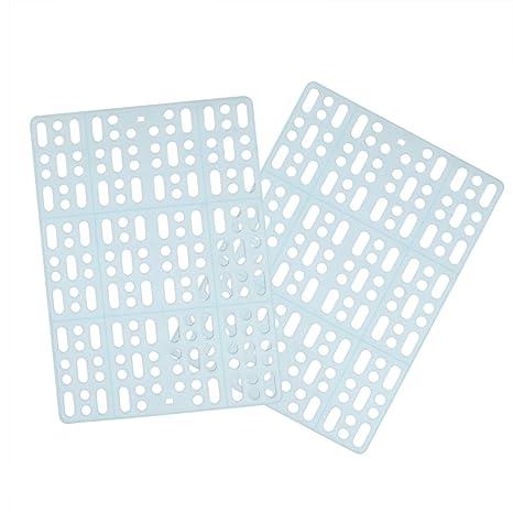 POPETPOP 2 Alfombrillas de plástico para Jaula de Conejo, con ...