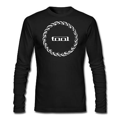 Amazon com: LESN Men Tool Rock Band Music Tour Logo Tshirt Long