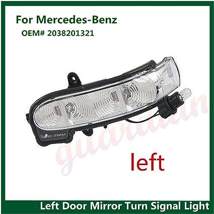 Luz Intermitente para Espejo retrovisor Izquierdo para Mercedes W211 E W463 E320 E500 G FidgetGear