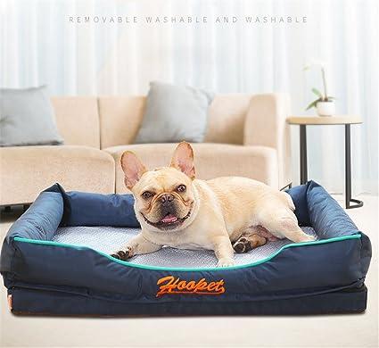 Bre Verano Guay Cama de Perro Sofá para Perros Limpieza extraíble Nido de Gato Alfombra de