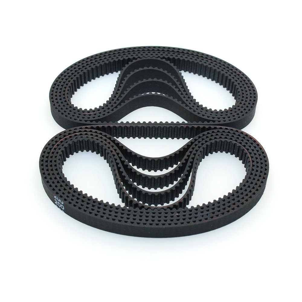 BIQU Equipment GT2 Timing Belt 200mm Width-6mm Teeth 305 Closed-Loop Rubber Belt for 3D Printer (Pack of 10pcs)