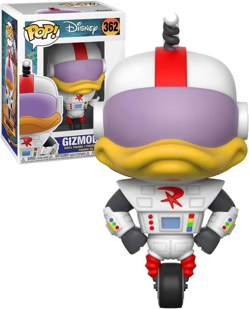 Amazon Com Funko Pop Disney Duck Tales Gizmoduck Toys Games Is gizmoduck?!, he hires gizmoduck to work for waddle. funko pop disney duck tales gizmoduck