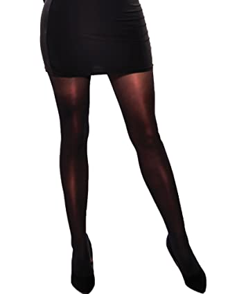 3facaad0666ac Women's glossy tights semi-opaque 40 denier 3 colours by Aurellie: Amazon.co .uk: Clothing