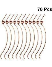 SUPVOX 70 pezzi D21 per martello pianoforte Molle per pianoforti verticali Riparazione ricambi (Golden)