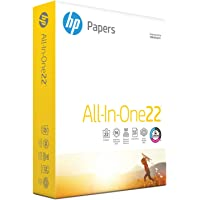 1 Ream HP Printer Paper, All In One22, 8.5 x 11 Paper (500 Sheets)