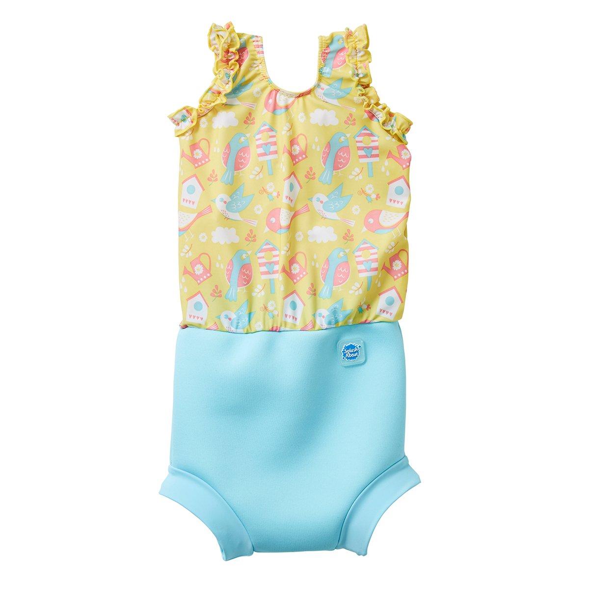 Splash About Happy Nappy - Costume con pannolino integrato UVFSTF1-P