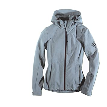 Out Living Outdoor Mujer Chaqueta Outdoor Softshell Gris ...