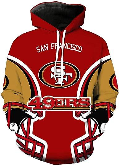 domorebest NFL Baseball San Francisco 49Ers Hoodies Hommes