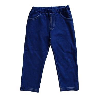 Leela Cotton Baby Kinder Hose in Jeans-Optik aus reiner Bio-Baumwolle ( 557bedd269