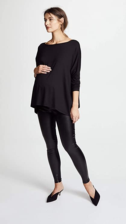 Hatch Maternity Womens The Night Out Legging - Black
