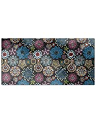 The Art Of The Snowflake Rectangle Tablecloth Large Dining Room Kitchen Woven Polyester Custom Print