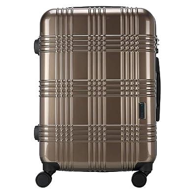 517c031d57 スーツケース Mサイズ タイヤロック付き HINOMOTO ダブルキャスター キャリーケース 50L TSAロック 全