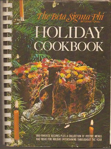 Beta Sigma Phi Holiday Cookbook