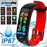 Best Start Calorie Counting Watches - IP67 Waterproof Fitness Tracker HR Smart Watch Review