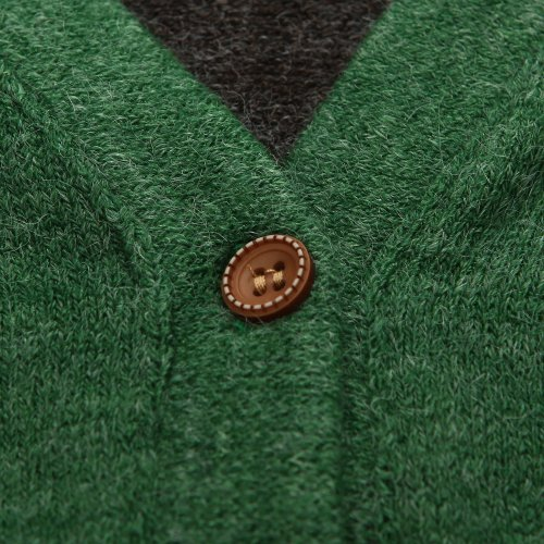 Richie House Boy's Handsome Cardigan with Rabbit Pockets Size 1-8 RH1435