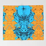 Society6 Holy Cow Throw Blankets 88'' x 104'' Blanket