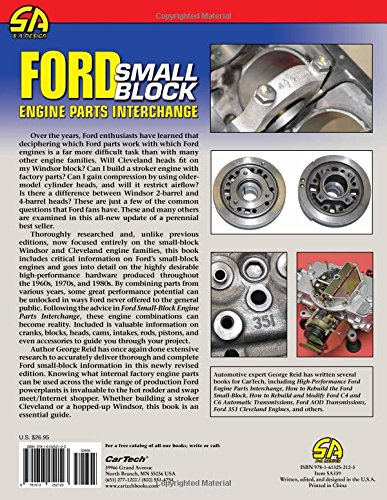 ford small block engine parts interchange george reid rh amazon com Used Auto Parts Search Used Auto Parts Salvage Yards